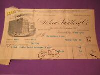 1901 ASKEW SADDLERY Saddle CO Kansas City Missouri BILL HEAD