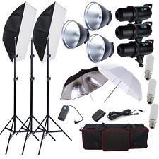VENTE! Kit Flash 900W LED Studio Photo Inclut Parapluies Supports Softbox FR