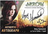 Arrow Season 4 Auto Autograph Card Amy Gumenick Cupid AG Cryptozoic