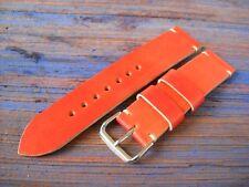 handmade watch strap band genuine cowhide leather width 22/22 mm Vintage Panerai