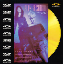 PEPSI & SHIRLIE - All Right Now  Laser Disc