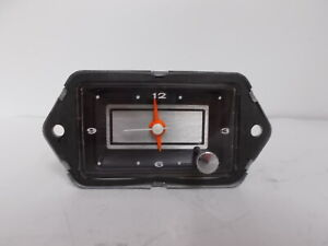 1967 1968 1969 1970 1971 1972 Jeep Clock. Very Nice. Tested and Works Perfectly