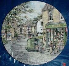 Royal Doulton Collectors Plate THE GENERAL STORE - WINDOW SHOPPING