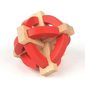 Wooden Lock Puzzle Logical Orbit