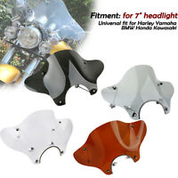 Motorcycle Windshield Windscreen Mounting Kit For Universal Harley Honda Cruiser