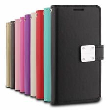SAMSUNG GALAXY NOTE 8 - Leather Multi-Card Wallet Case Premium Diary Pouch Cover