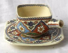 THOUNE SQUARE SHAPED CUP AND SAUCER