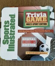 Sports Illustrated Trivia Game Multi-Sport Edition, 1998 in collector's tin