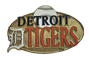 Detroit Tigers 1998 Peter David MLB Baseball Logo Collectible Pin