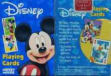 Bicycle Disney Mickey Mouse Playing Cards - Blue Edition - SEALED