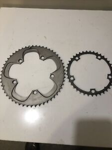 Sram Red 10 Speed Chain Ring set 53-39  130 bcd