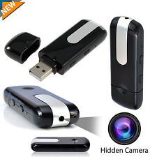 Mini Hidden Spy HD Camera USB Video Recorder Motion Detector DVR DV U8 Camcorder
