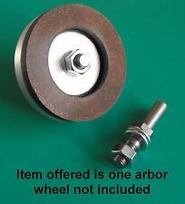 Arbor for 2inch Diamond wheel gravers watchmakers lathe