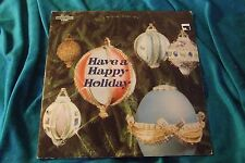 Have A Happy Holiday Various LP CSS 1432