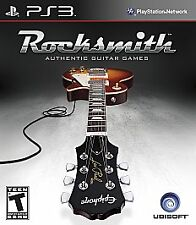 Rocksmith INCLUDES Real Tone Cable ! Sony PlayStation 3 PS3 - SEALED