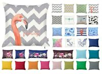 "Decorative Throw Cushion Cover, Patterned/Plain, Sofa, Bedroom, 45x45cm (18x18"")"