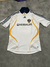 La Galaxy Beckham 23 Home Football Shirt 2007/08 Adults Large Adidas C274