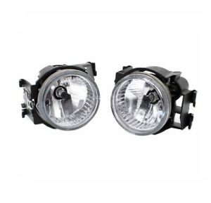 Pair Front Left Right Fog light lamp For Subaru WRX STI Impreza Legacy