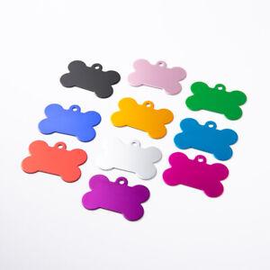 Premium Quality Blank Dog Tags, Dog Bone ID Tags For Engraving Bulk Wholesale