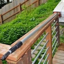 Telescopic Pole 3 section, 13 ft. Qty 3 ! 4 ft when closed (you get 3)