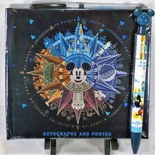 Walt Disney World 2018 Discover The Magic Mickey Autograph Book & Matching Pen