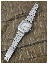 SANDOZ RARE MEN'S MASSIVE AUTOMATIC STAINLESS STEEL DIVER WATCH WITH STEEL BAND