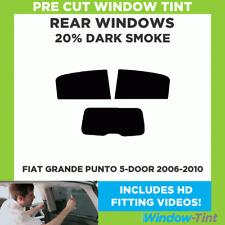 FIAT GRANDE PUNTO 5-door 2006-2010 20% DARK POSTERIORE TASTINI finestra Tinta