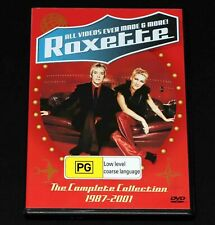 Roxette ~ The Complete Collection 1987-2001 DVD - sent with tracking