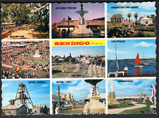 Postcard Australia Victoria Bendigo Gardens Lake Eppalock Mint Condition