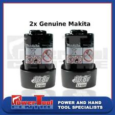 2 x Genuine Rechargeable Battery 10.8V 1.3Ah Lithium For Makita BL1013 BL1014
