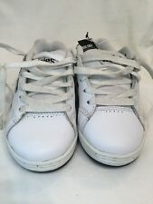 Etnies Kids Cinch White Black Childrens Boys Skate Shoes UK Size 12C BNWOB