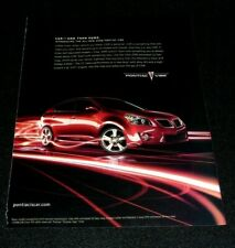 PONTIAC VIBE CAR ADVERTISEMENT -2009 CAR_AND THEN SOME