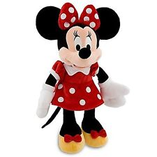 Disney's Minnie Mouse Plush - Red Dress - 19'' H - New with Tags - Fast Shipping