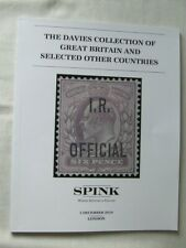 Spink Stamp Auction Catalogue -Davies Gb & Others Collection - London Dec 2019