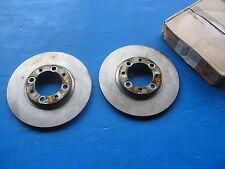 Disques de freins avant Nauder pour: Simca: 1307 et 1308, Talbot: Murena, Alpine