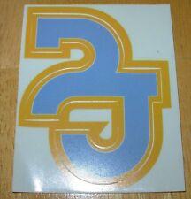 Pearl Jam Blue/Yellow Old School Pj Logo Sticker not cd l 00004000 p but Cool Classic