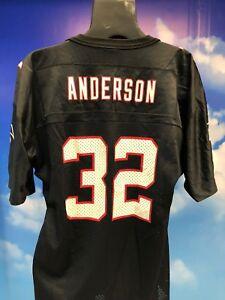 Vintage Atlanta Falcons Kids Anderson Jersey Youth XL 18-20 SuperBowlXXXIII