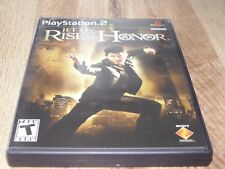 Rise to Honor Greatest Hits (Sony PlayStation 2, 2004) Complete!!!!!