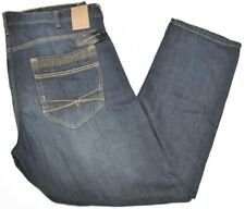 Sean John Jeans Men's 40x32 Bedford Classic Straight Denim Vintage Rinse N786