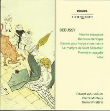 Monteux / Haidink - Debussy NEW CD Eduard van Beinum March ecossaise