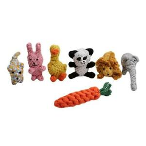 Dog Toys Durable Dog Rope Toy Set Knots Cotton Pet Teething Chew Toys SPM