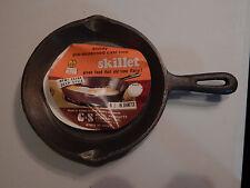 """Vtg Cast Iron Round Skillet G&S 6 1/2"""""""