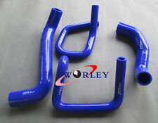 FOR Ford Territory SX SY 4.0L 6Cyl 2004-2011 Silicone Radiator Heater Hose BLUE