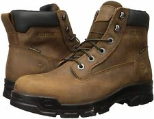 "Wolverine Men's Chainhand Steel-Toe Waterproof 6"" Boot Industrial, Brown, Size"