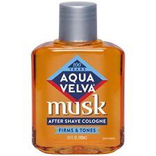 Aqua Velva After Shave, Musk, 3.5 oz (2 Pack)