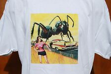 GRAPHIC retro art vintage Mens Cotton T Shirt , ANT ATTACK, S,M,L ,XL