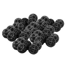 "50 PCS Aquarium 1"" Bio Balls w/Sponge Filter Media Wet/Dry Koi Fish Pond Reef"