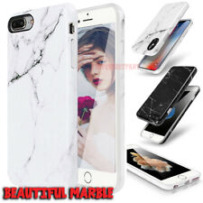 Marble Case Shockproof Hard PC Soft TPU Cover For iPhone X XS Max XR X 8 7 Plus