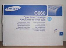 Original Samsung CLP-C660B cyan für CLP 610 660 CLX 6200 6210 6240  OVP A