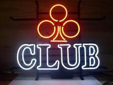 "17""x13""Plum Club Neon Sign Light Handmade Real Glass Tube Wall Poster Art Visual"